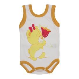 Imagem - Body para Bebê Menina Regata  - 10046-body-regata-menina-bco-mostar