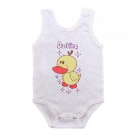 Imagem - Body para Bebê Menina Regata  - 10046-body-regata-duckling