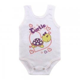 Imagem - Body para Bebê Menina Regata  - 10046-body-regata-turtle