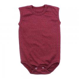 Imagem - Body para bebê Regata Lapuko - 10138-body-regata-vermelho-mescla