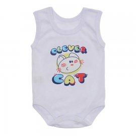 Imagem - Body Regata Bebê Lapuko - 10255-body-regata-Clever-Cat