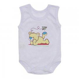 Imagem - Body Regata Bebê Lapuko - 10255-body-regata-urso-amarelo