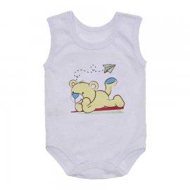 Imagem - Body de Bebê Regata Menino - 10186-body-regata-urso-amarelo
