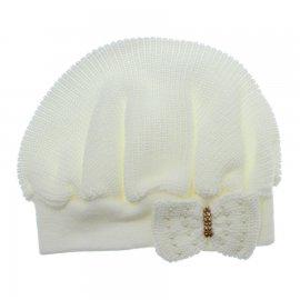 Imagem - Boina para Bebê em tricot - 10119-boina-bebe-branco