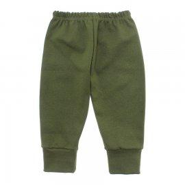 Imagem - Calça Bebê com Punho Lapuko - 10087-calca-promo-verde-medio