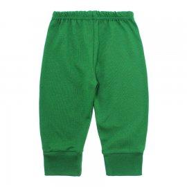 Imagem - Calça Bebê com Punho Lapuko - 10181-calça-punho-verde-bandeira