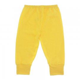Imagem - Calça Bebê em Malha Lapuko - 10185-calça-punho-malha-amarelo