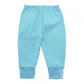 Imagem - Calça Bebê em Malha Lapuko - 10185-calca-malha-azul-bebe