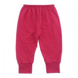Imagem - Calça Bebê em Malha Lapuko - 10185-calça-punho-malha-pink