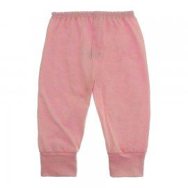 Imagem - Calça Bebê em Malha Lapuko - 10185-calça-punho-malha-rosa