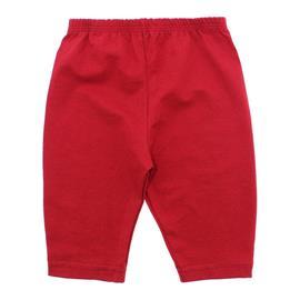 Imagem - Calça Capri Para Bebê Menina - 10103-calça-capri-vermelho