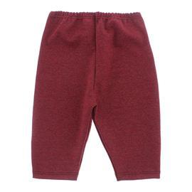 Imagem - Calça Capri Para Bebê Menina - 10103-calça-capri-vermelho-mescla