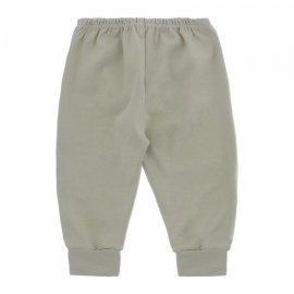 Imagem - Calça para Bebê com Punho Lapuko - 10087-calça-punho-lapuko-cinza