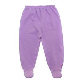 Imagem - Calça para Bebê em Malha - 10080-calça-com-pe-lilas