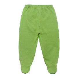 Imagem - Calça para Bebê em Malha - 10080-calça-com-pe-verde