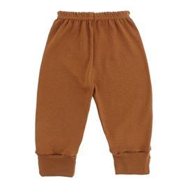 Imagem - Calça com Pé Reversível para Bebê - 10041-calça-pe-rev-rib-caramelo