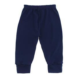 Imagem - Calça com Pé Reversível para Bebê - 10041-calça-ribana-pe-rev.marinho