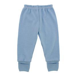 Imagem - Calça de Bebê com Pé Reversível - 4981-calça-rev-azul