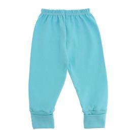 Imagem - Calça de Bebê com Pé Reversível - 4981-Calça-rev.azul-piscina