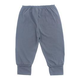 Imagem - Calça de Bebê com Pé Reversível Lapuko - 10060-calça-rev.malha-azul-medio