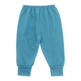 Imagem - Calça de Bebê com Pé Reversível Lapuko - 10060-calça-rev.malha-turquesa