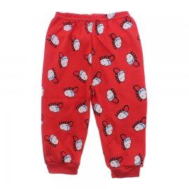 Imagem - Calça de Bebê Estampada - 10145-calça-estampada-vermelho