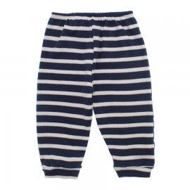 Imagem - Calça de Bebê Ribana Listrada Lapuko - 10058-calça-listrada-marinho-marrom
