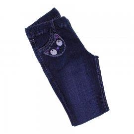 Imagem - Calça Jeans Infantil com Bordado  - 6802- Calça Jeans Infantil com Bord