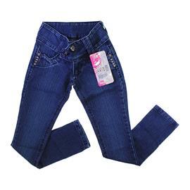 Imagem - Calça Jeans Feminina com Strech Borboleta - 9716 - 9716