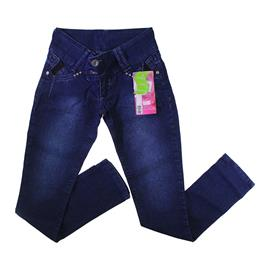 Imagem - Calça Jeans Juvenil com Elastano Larissa - 7078-Calça Jeans Juvenil com Elasta