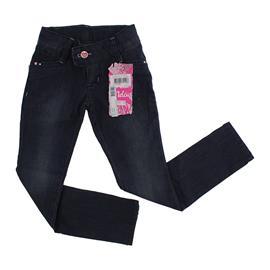 Imagem - Calça Jeans Infantil Bordada  - 8989