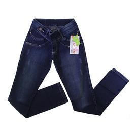 Calça Jeans Infantil Feminina com Strech - 9040
