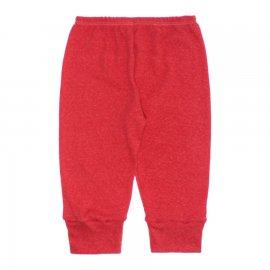 Imagem - Calça para Bebê Atoalhado   - 10258-calca-atoalhado-vermelho