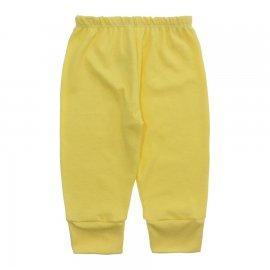 Imagem - Calça para Bebê Canelada Lapuko - 10238-calca-canelada-amarelo-bebe