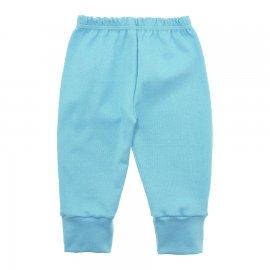 Imagem - Calça para Bebê com Punho Lapuko - 10087-calca-punho-azul-bebe