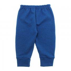 Imagem - Calça para Bebê com Punho Lapuko - 10087-calca-punho-lapuko-azul-medio