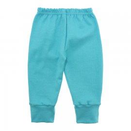 Imagem - Calça para Bebê com Punho Lapuko - 10087-calça-punho-lapuko-azul-pisci