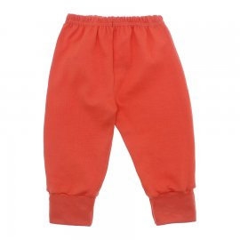 Imagem - Calça para Bebê com Punho Lapuko - 10087-calça-punho-coral