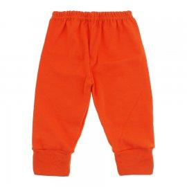 Imagem - Calça para Bebê com Punho Lapuko - 10087-calca-punho-laranja-reativo