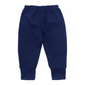 Imagem - Calça para Bebê com Punho Lapuko - 10087-calça-punho-lapuko-marinho