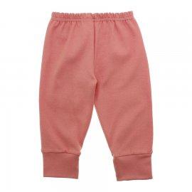 Imagem - Calça para Bebê com Punho Lapuko - 10087-calça-punho-salmão