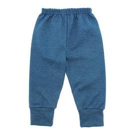 Imagem - Calça para Bebê com Punho Lapuko - 10087-calça-com-punho-verde-claro-m