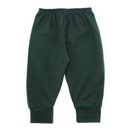 Imagem - Calça para Bebê com Punho Lapuko - 10087-calça-com-punho-verde-militar