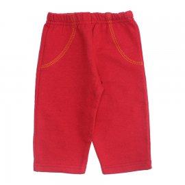 Imagem - Calça para Bebê em Moletom - 10251-calca-moletom-vermelho