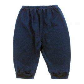 Imagem - Calça para Bebê sem Pé de Ribana Lapuko - 10092-calça-sem-pe-marinho