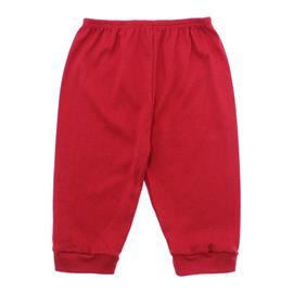 Imagem - Calça para Bebê sem Pé de Ribana Lapuko - 10092-calça-sem-pe-vermelho