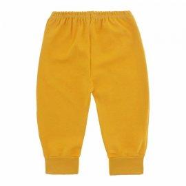 Imagem - Calça para Bebê com Punho Lapuko - 10087-calca-punho-lapuko-amarelo