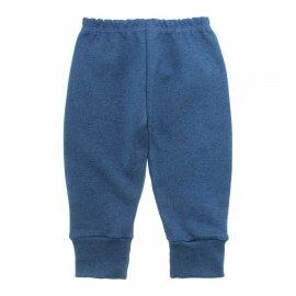 Imagem - Calça Bebê com Punho Lapuko - 10087promo-calca-rib-azul-medio