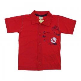 Imagem - Camisa Infantil Menino Kids Minis  - 6051 - Vermelho