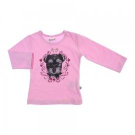 Imagem - Camiseta Manga Longa de Bebe - Brandili - cod. 6076 - 6076 - Rosinha